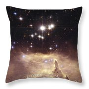 Above The Heavens Throw Pillow