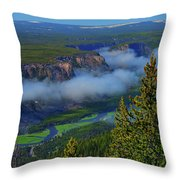Above The Madison Throw Pillow
