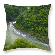 Above The River Throw Pillow