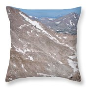 Above Treeline Throw Pillow