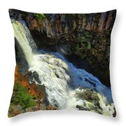 Above Undine Falls Throw Pillow
