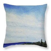 Above Us Throw Pillow
