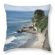 Above Zuma Throw Pillow