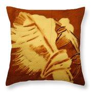 Abraham - Tile Throw Pillow