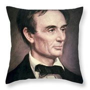 Abraham Lincoln Throw Pillow