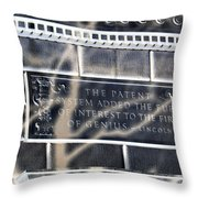 Abraham Was A Smart Man Throw Pillow