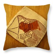 Abram - Tile Throw Pillow