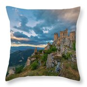 The Last Stronghold, Italy  Throw Pillow