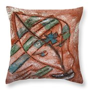 Absence - Tile Throw Pillow