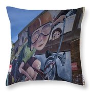 Absolute Bikes Of Flagstaff Throw Pillow