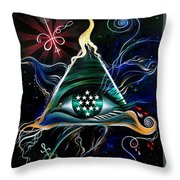 Absolute - Creator Of The Universe  Throw Pillow
