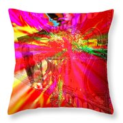 Absolute Power Corrupts Absolutely Throw Pillow