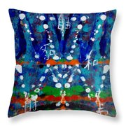 Absolutely Pure Kundalini Throw Pillow