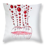 Absolution Of Amour Throw Pillow