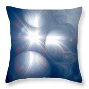 Absorbing Your Light Throw Pillow