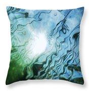Absract Reeds No. 2 Throw Pillow