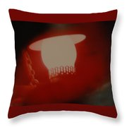 Abstarct Sea Lantern Throw Pillow