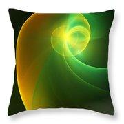 Abstrac3 080210 Throw Pillow