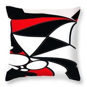 Abstrac7-30-09-b Throw Pillow