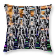 Abstract # 2682 Throw Pillow