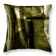 Abstract - 3 Throw Pillow
