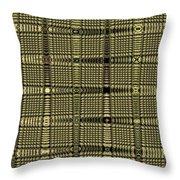 Abstract # 6669e Throw Pillow