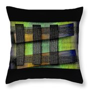 Abstract  - Cinetism Throw Pillow