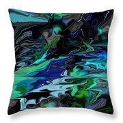Abstract 011211 Throw Pillow