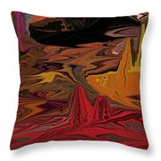 Abstract 011311 Throw Pillow