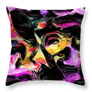 Abstract 011715 Throw Pillow