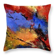 Abstract 012110 Throw Pillow