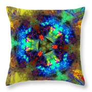 Abstract 012211 Throw Pillow
