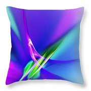 Abstract 012611 Throw Pillow