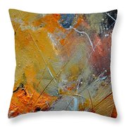 Abstract 015011 Throw Pillow
