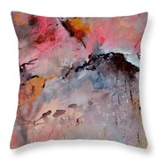 Abstract 015082 Throw Pillow