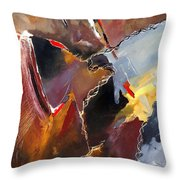 Abstract 020606 Throw Pillow
