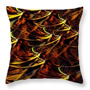 Abstract 022611a Throw Pillow
