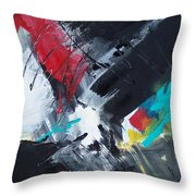 Abstract 026 Throw Pillow