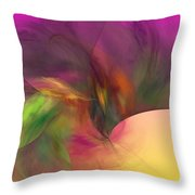 Abstract 030111 Throw Pillow