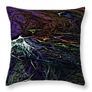 Abstract 030211 Throw Pillow