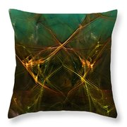 Abstract 031211 Throw Pillow