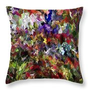 Abstract 032215 Throw Pillow