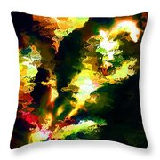 Abstract 032311 Throw Pillow