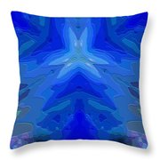 Abstract 032811-2 Throw Pillow
