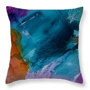 Abstract 034 Throw Pillow