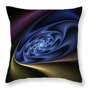 Abstract 040610 Throw Pillow