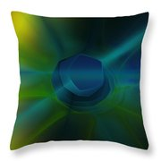 Abstract 041111 Throw Pillow