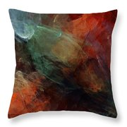 Abstract 042211 Throw Pillow