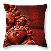 Abstract 0423c Throw Pillow