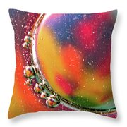 Abstract 0423d Throw Pillow